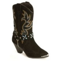 Sheplers: Dingo Stone Harness Cowgirl Boots