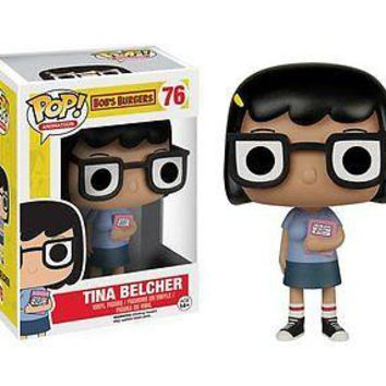 Funko Pop Animation: Bob's Burgers - Tina Vinyl Figure