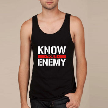 Know your enemy Tank Top