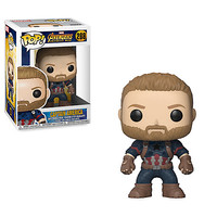 Captain America Pop! Vinyl Bobble-Head Figure by Funko - Marvel's Avengers Infinity War | Marvel Shop