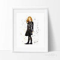 Hermione, Harry Potter Art Print Poster