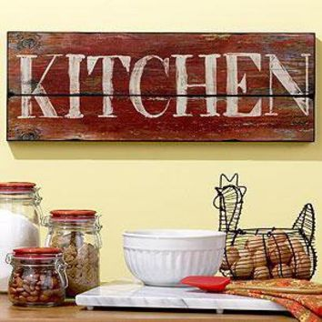 Kitchen Sign   Wall Decor   Cost Plus World Market