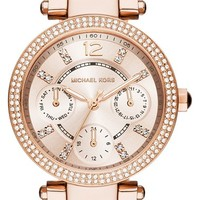 Michael Kors 'Parker - Mini' Multifunction Watch, 33mm | Nordstrom