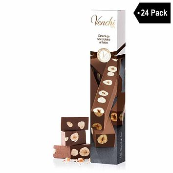 Venchi Mini Gianduja with Piedmont Hazelnuts 1.2 oz. x 24