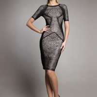 Bqueen Rubber-effect Bandage Dress H219H