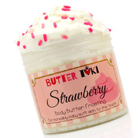Strawberry Cake Body Butter Frosting 4oz