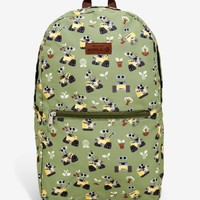 Licensed cool Loungefly Disney Pixar WALL-E 2 in 1 Backpack Fits in Pouch Eco Canvas BoxLunch