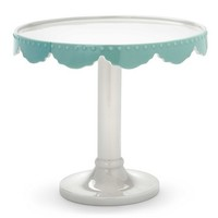 'Dream' Footed Cake Plate 20x18cm