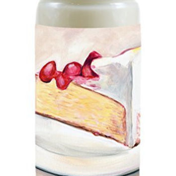 Scented Like Cheesecake Appetizing Food Fragrance Soy 8 Ounce Candle