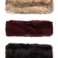 """Juicy Couture """"Middlebury"""" Faux Fur and Knit Loop - Jewelry  Accessories - Bloomingdale's"""