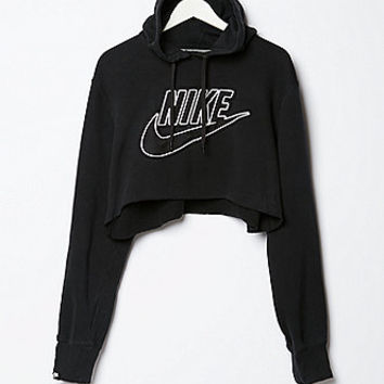 Retro Gold Vintage Nike Cropped Fleece From PacSun Things I
