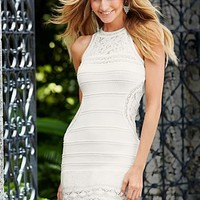 Lace insert dress  from VENUS