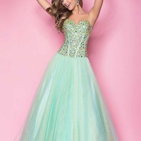 Blush 5213 at Prom Dress Shop