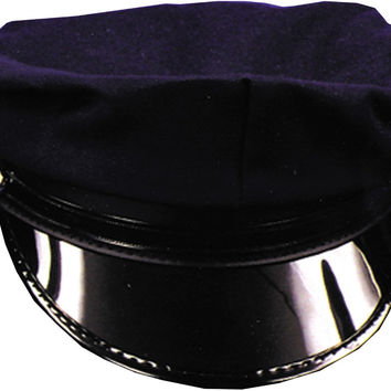 costume accessory: police hat child navy