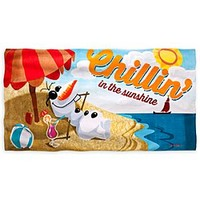 Olaf Beach Towel - Personalizable - Frozen | Disney Store