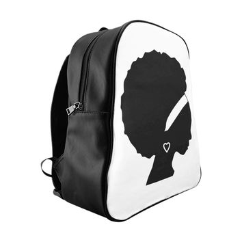 Afro Beauty School Backpack