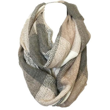 Remain True Plaid Infinity Scarf