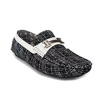 New Men's Weems-01 H Buckle Moccasin Dirving Shoes