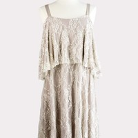 Elizabeth Tiered Lace Dress
