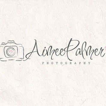 premade photography logo design from photographylogos on etsy