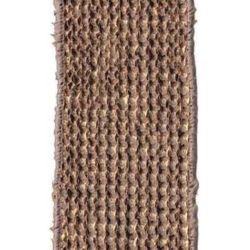 Faux Burlap Basket Weave, Copper Kraft