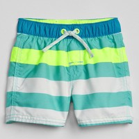 Stripe Swim Trunks|gap