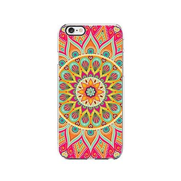 Mandala Transparent Silicone Plastic Phone Case for iphone 7PLUS _ LOKIshop (iphone 7 plus)
