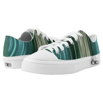 Glacier Green Driving Dreams Women's Low Top Shoes