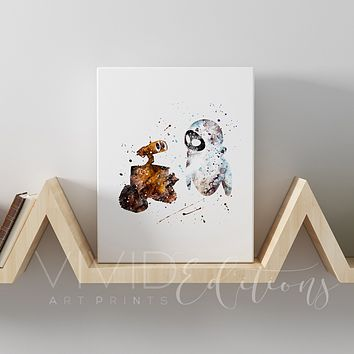 Wall-E Gallery Wrapped Canvas