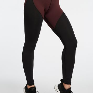 Michi Cadence High Waisted Leggings - Mulberry