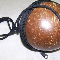 Plain Coconut Shell Handbags