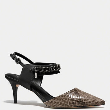 COACH GARLAND HEEL | Dillards