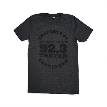 Official - 92.3 The Fan Property of Cleveland -Tshirt