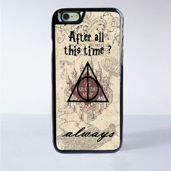 After all this time always quote harry potter iPhone 6S Case