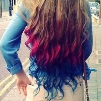 Color Your Hair at Home - Chalk Hair Color - Dip Dye, PICK ANY COLOR