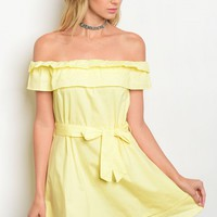 S12-11-1-D16049 YELLOW DRESS 2-2-2