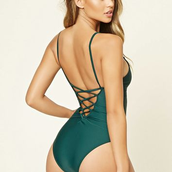 Crisscross-Back One Piece