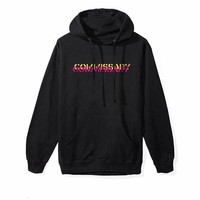 """""""Anti Social Social Club"""" Unisex Personality Cool Logo Letter Print Loose Long Sleeve Cotton Hooded Sweater Hoodie Tops"""