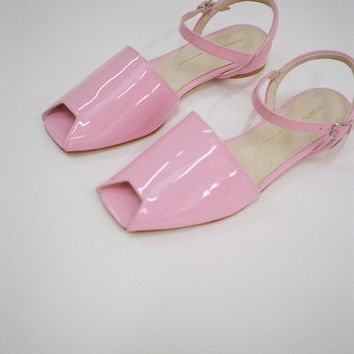 INTENTIONALLY BLANK | Intimate Sandal - Pink Patent
