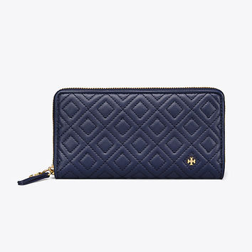 Tory Burch Fleming Zip Continental Wallet