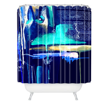 Holly Sharpe Sense Two Shower Curtain