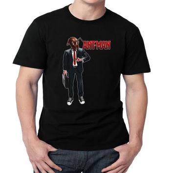 Ant-Man Womens and Mens T-shirt Black