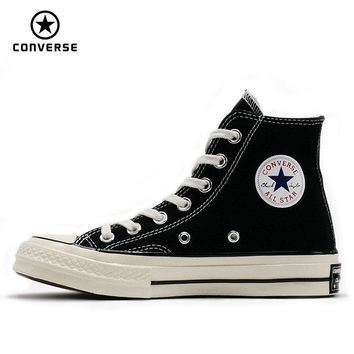 1970s Original Converse all star shoes men and women's sneakers canvas shoes high classic Skateboarding Shoes