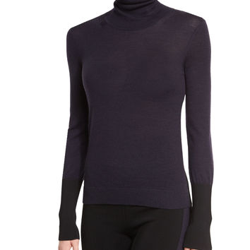 Jessica Turtleneck Sweater, Salute, Size: