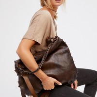 Free People Piramide Distressed Tote