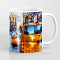 Downtown New York Mug by Haroulita | Society6