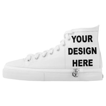 Create Your Own Custom High Top Sneakers