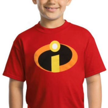 The Incredibles Movie Symbol Youth Kids T-Shirt