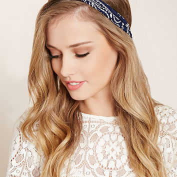 Paisley Print Headwrap | Forever 21 - 1000203029