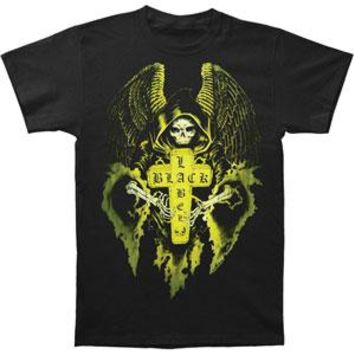 Black Label Society Men's  Angel 2011 Tour T-shirt Black